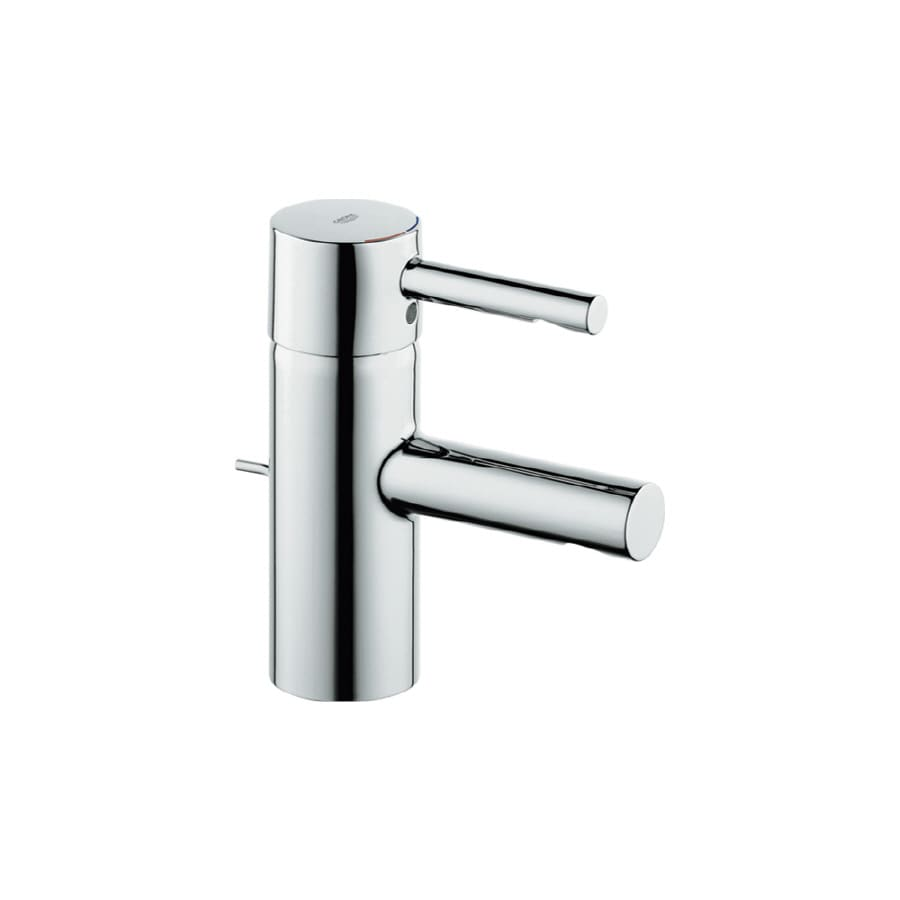 shop grohe essence chrome 1 handle single hole watersense bathroom faucet drain included at. Black Bedroom Furniture Sets. Home Design Ideas