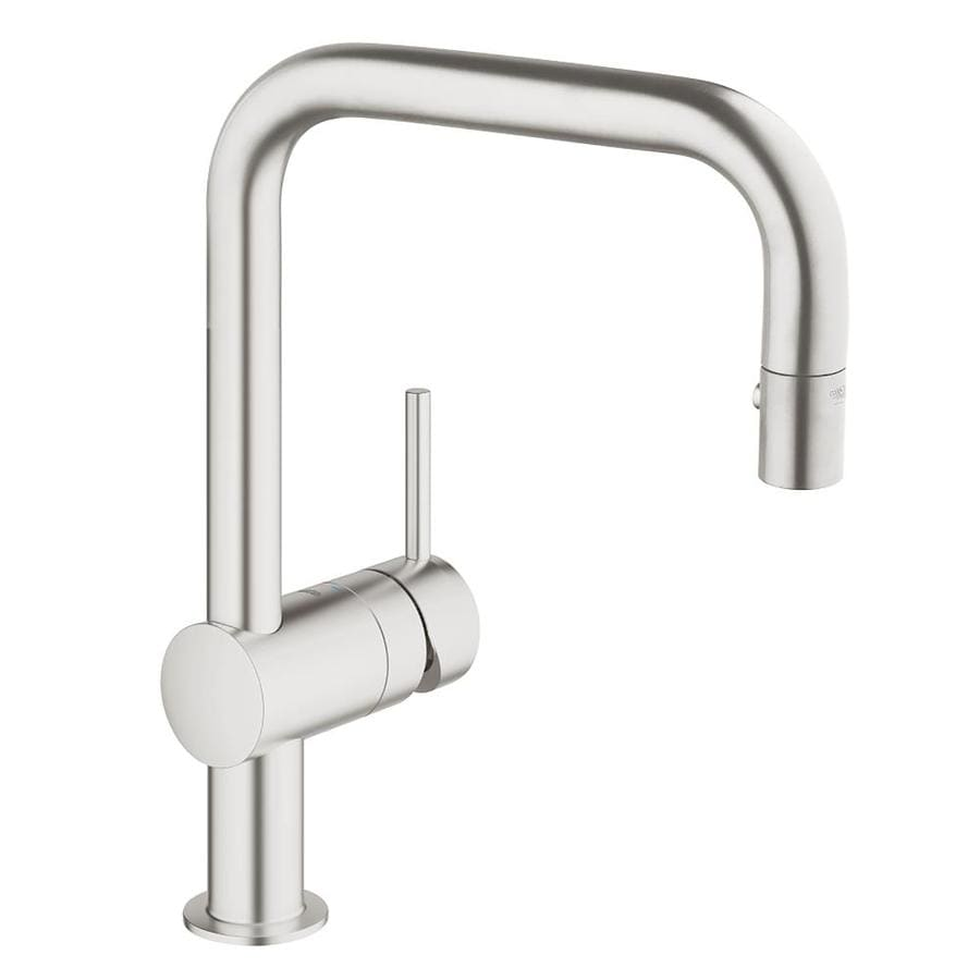 Grohe Stainless Steel Pull Down Kitchen Faucet