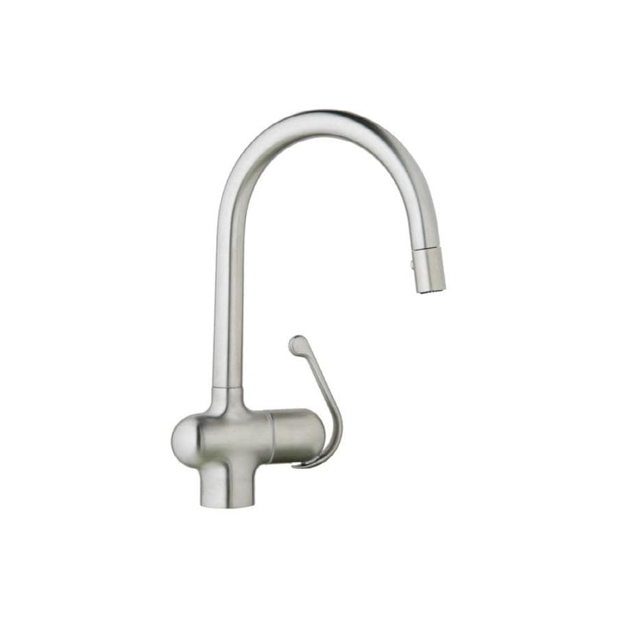 GROHE Ladylux Pro Stainless Steel 1 Handle Pull Down Kitchen Faucet