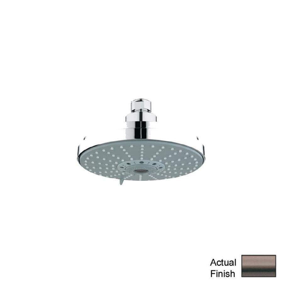 GROHE Rainshower Oil-Rubbed Bronze 4-Spray Shower Head
