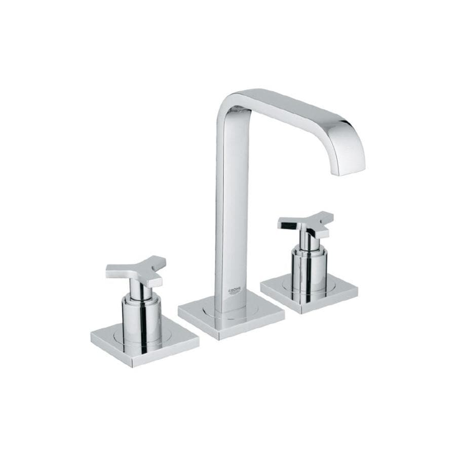 Shop GROHE Allure Chrome 2-Handle Widespread WaterSense