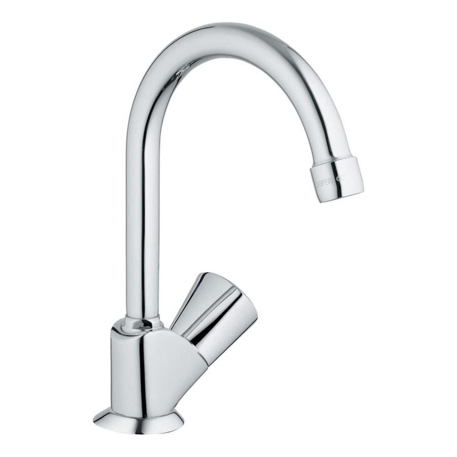 GROHE Classic Starlight Chrome 1-Handle Bar and Prep Faucet