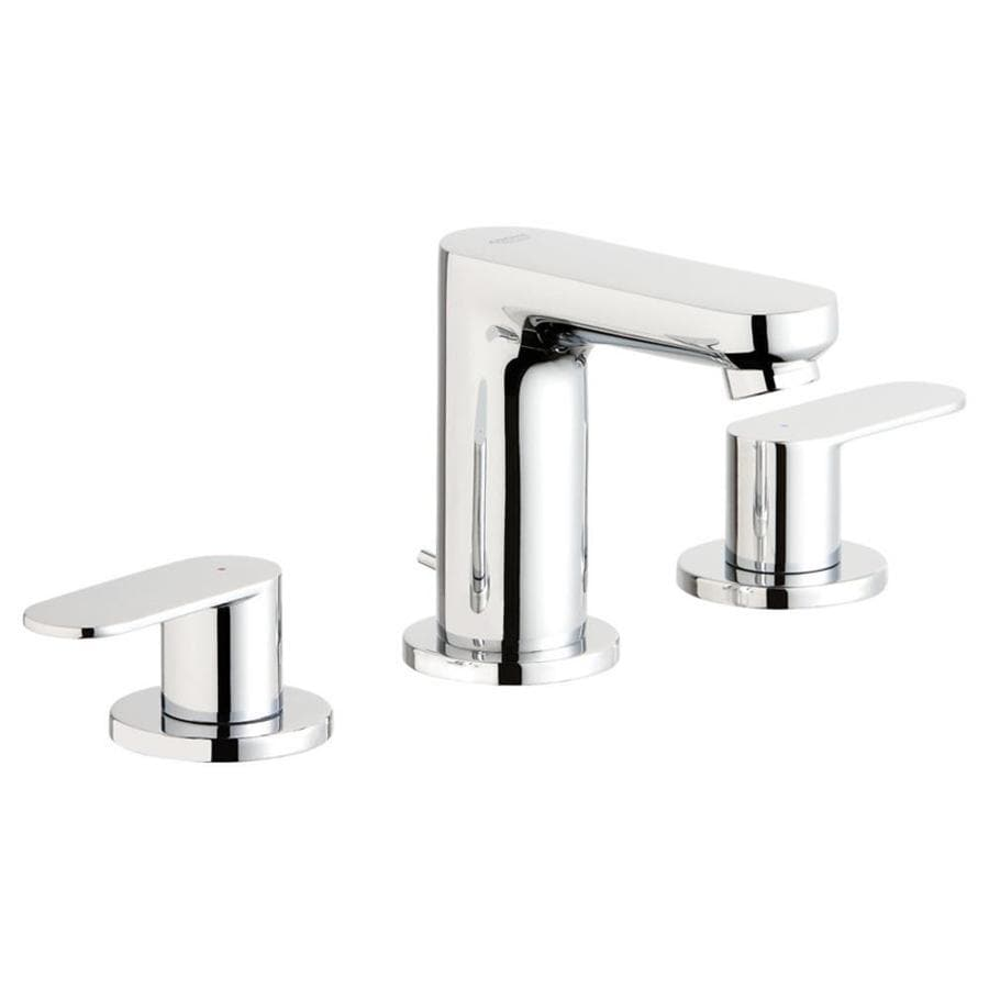 Shop Grohe Eurosmart Cosmopolitan Chrome 2 Handle Widespread Bathroom Faucet At