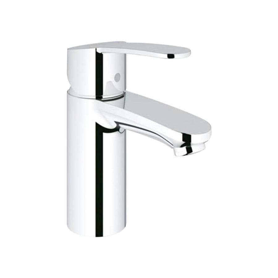 shop grohe eurosmart cosmopolitan starlight chrome 1 handle single hole bathroom faucet at. Black Bedroom Furniture Sets. Home Design Ideas
