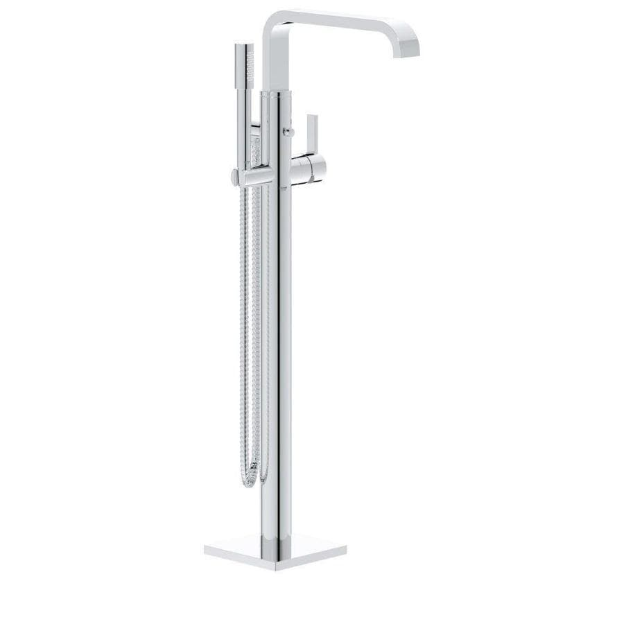 Shop GROHE Wave Chrome 1-Handle Fixed Freestanding Bathtub Faucet at ...