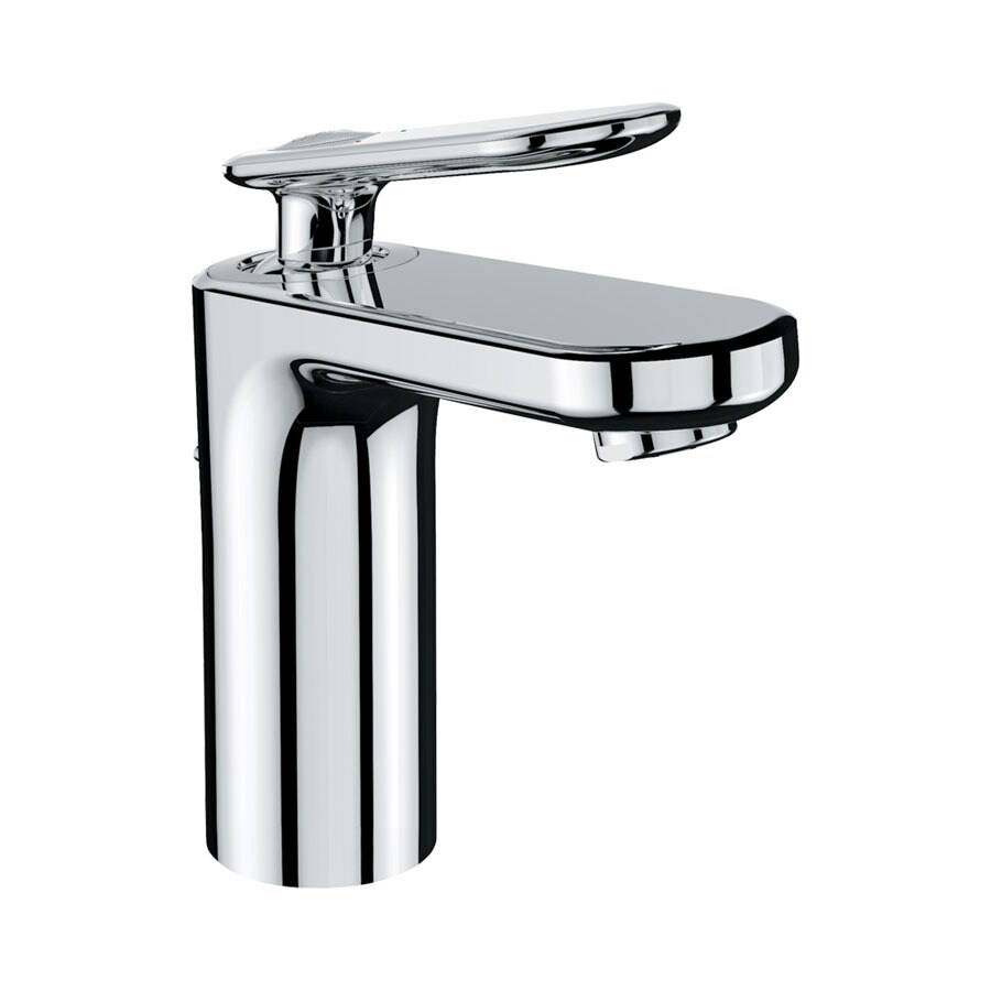 GROHE Ondus Veris Chrome 1-Handle Single Hole WaterSense Bathroom Faucet (Drain Included)