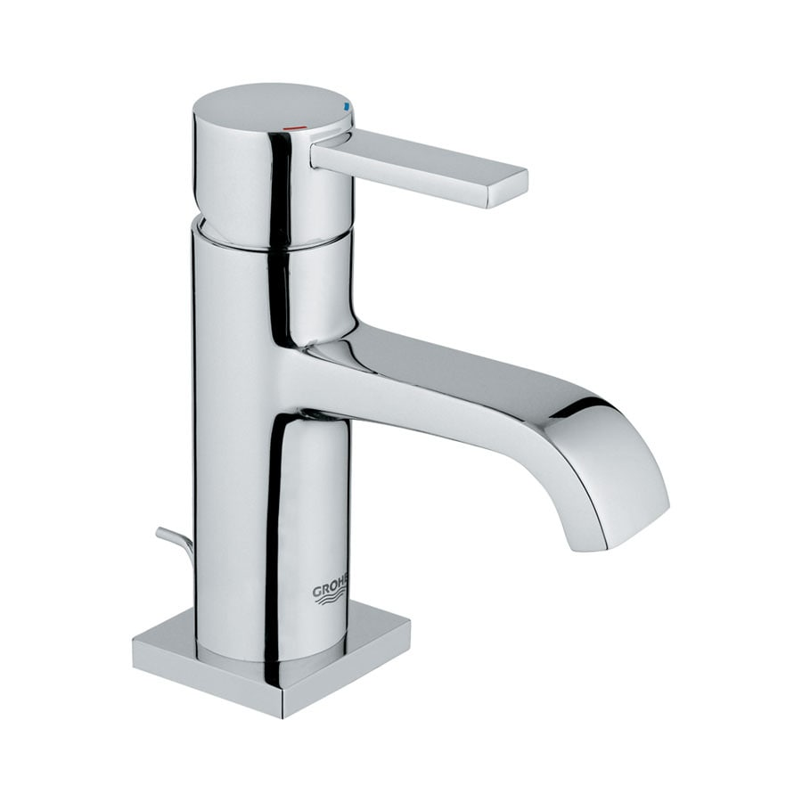 GROHE Allure Chrome 1-handle Single Hole Bathroom Faucet