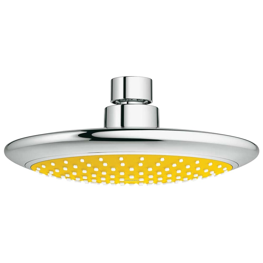 GROHE Solo Yellow/Chrome 1-Spray Shower Head