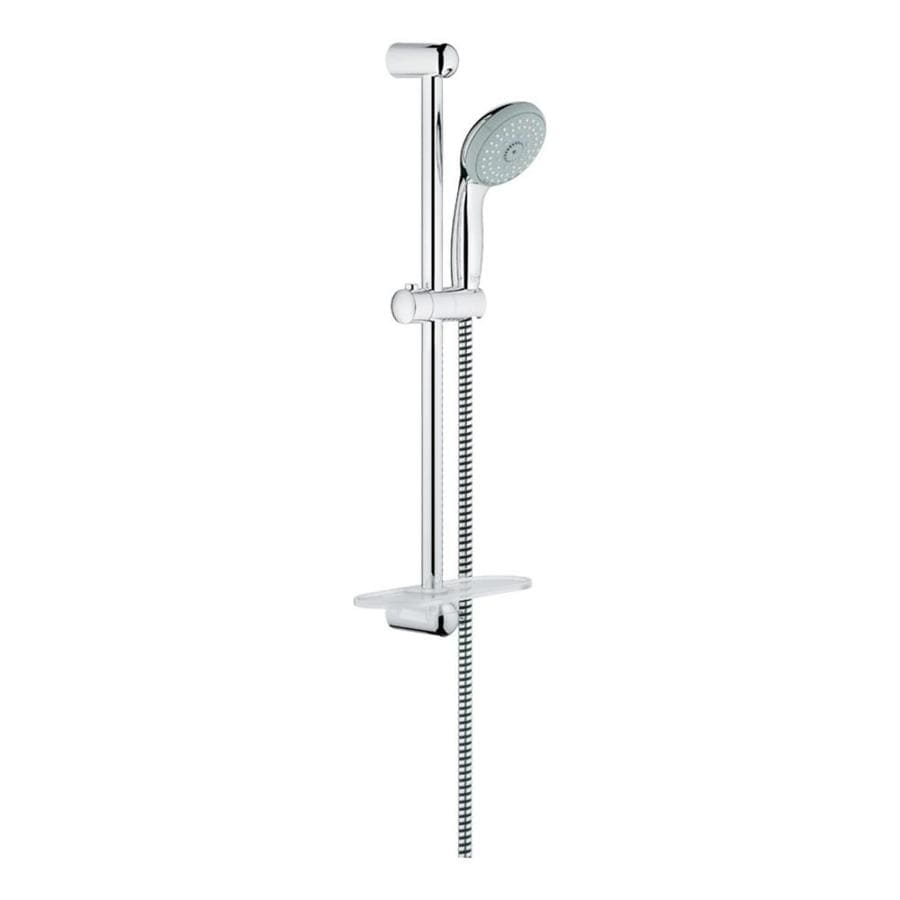 GROHE New Tempesta Starlight Chrome 4-Spray Shower Head
