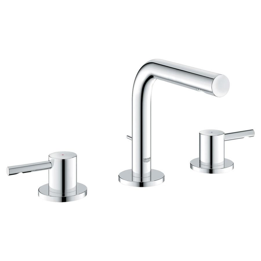 Shop GROHE Essence Chrome 2-Handle Widespread WaterSense Bathroom ...