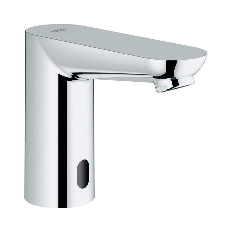 Shop GROHE Euroeco Chrome Touchless Single Hole Bathroom Faucet at ...