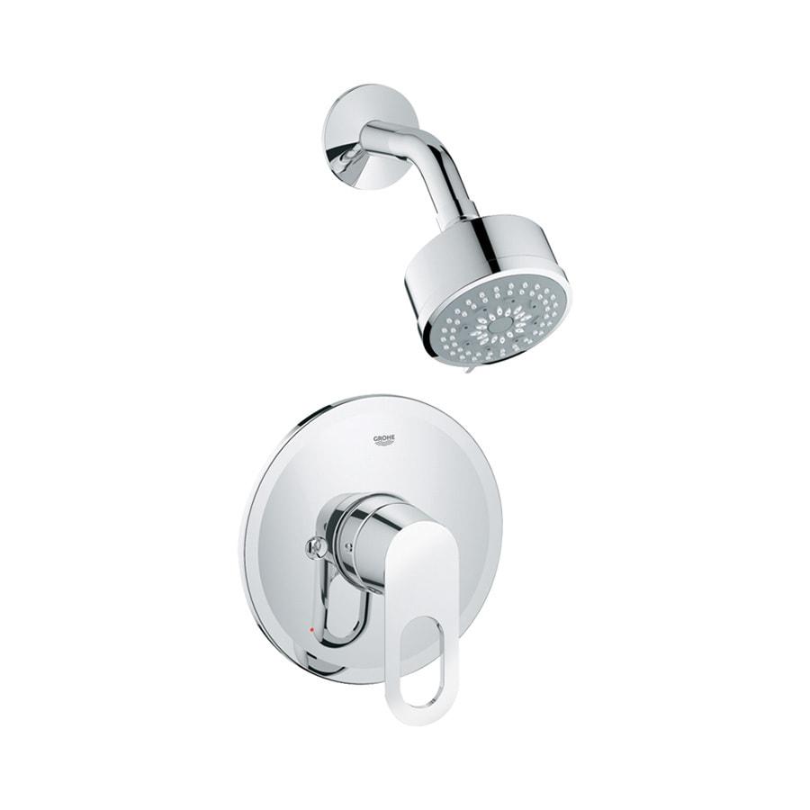 Shop GROHE BauCosmopolitan StarLight Chrome 1-Handle Faucet at Lowes.com