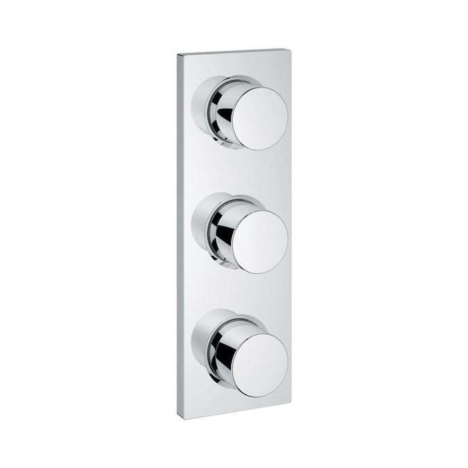 Grohe Chrome Knob Shower Handle In The Shower Faucet Handles Department At Lowes Com