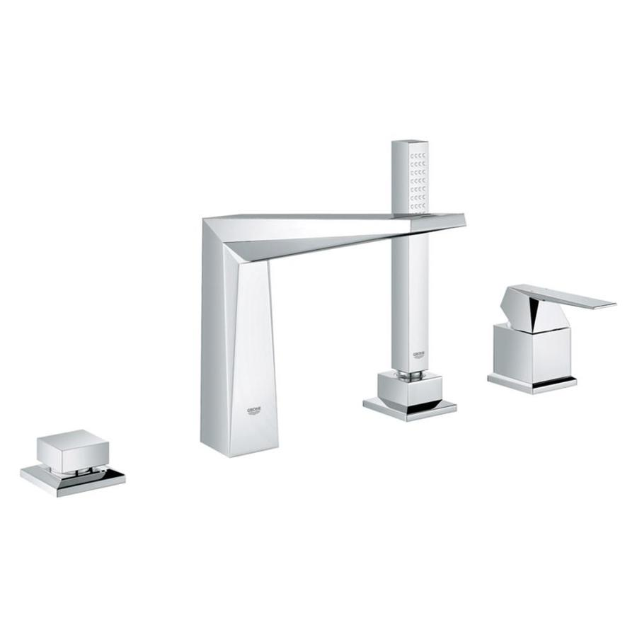 GROHE Allure Brilliant Starlight Chrome 1-Handle Adjustable Deck Mount Tub Faucet