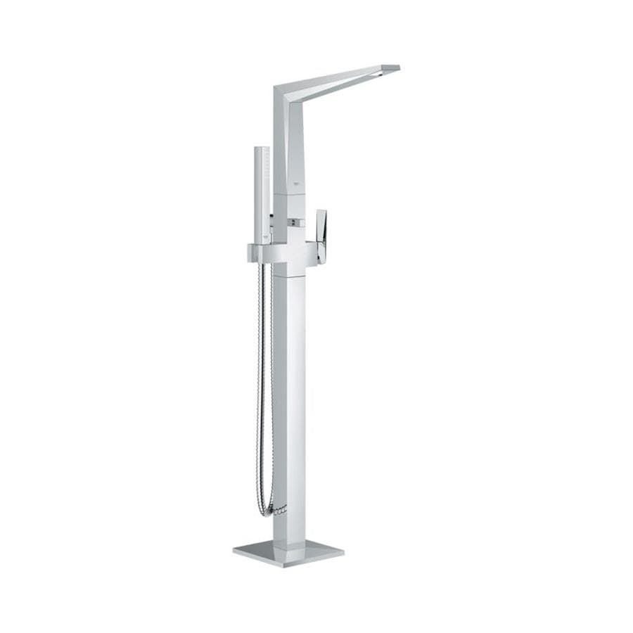 GROHE Allure Brilliant Chrome 1-Handle Fixed Freestanding Bathtub Faucet