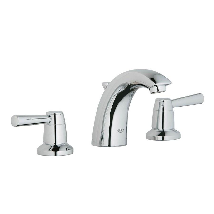 Shop GROHE Arden Starlight Chrome 2-Handle Widespread Bathroom ...