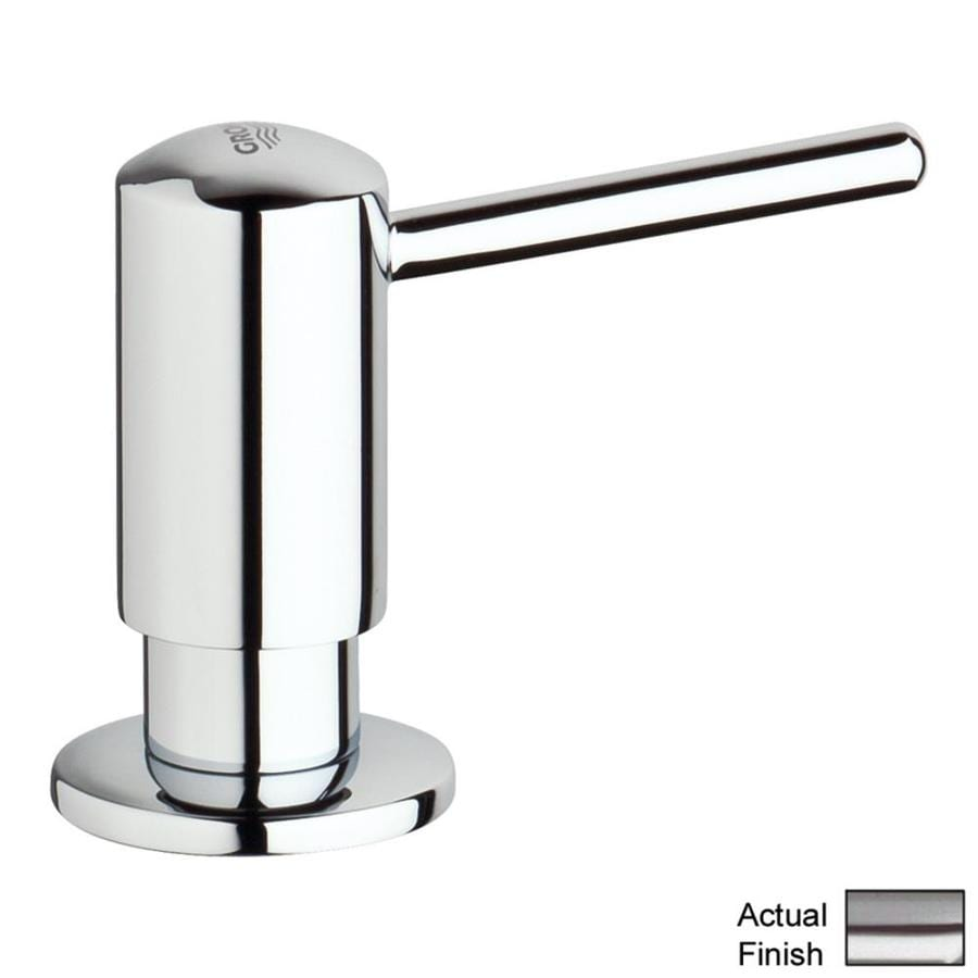 GROHE Supersteel Soap and Lotion Dispenser