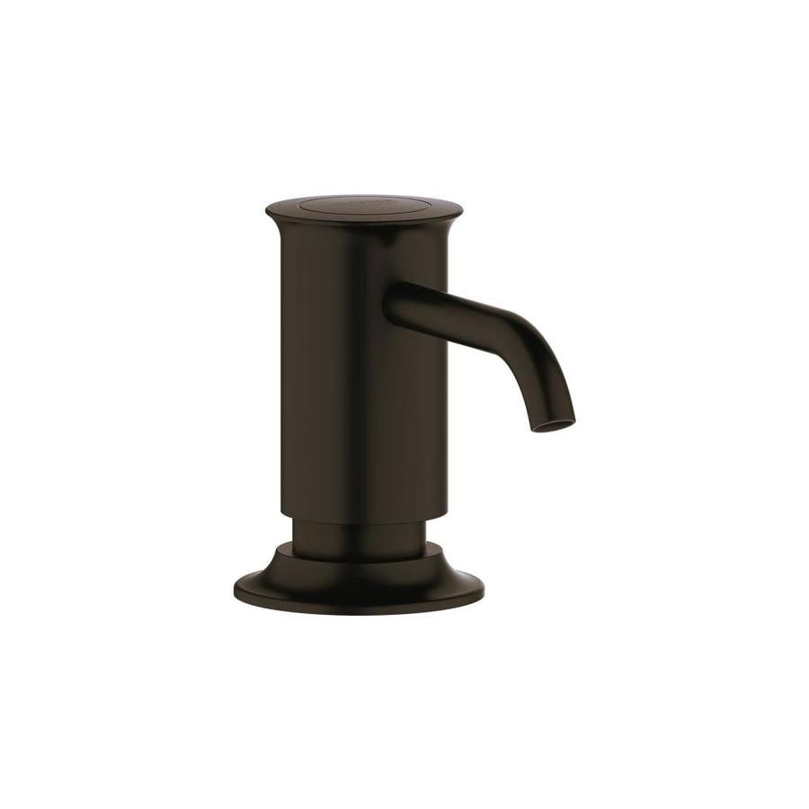 shop grohe oil rubbed bronze soap and lotion dispenser at. Black Bedroom Furniture Sets. Home Design Ideas