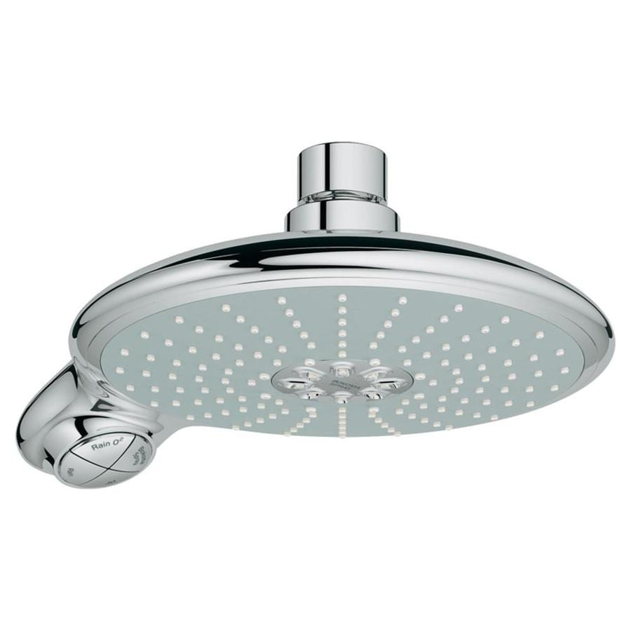 shop grohe power soul starlight chrome 4 spray shower head. Black Bedroom Furniture Sets. Home Design Ideas