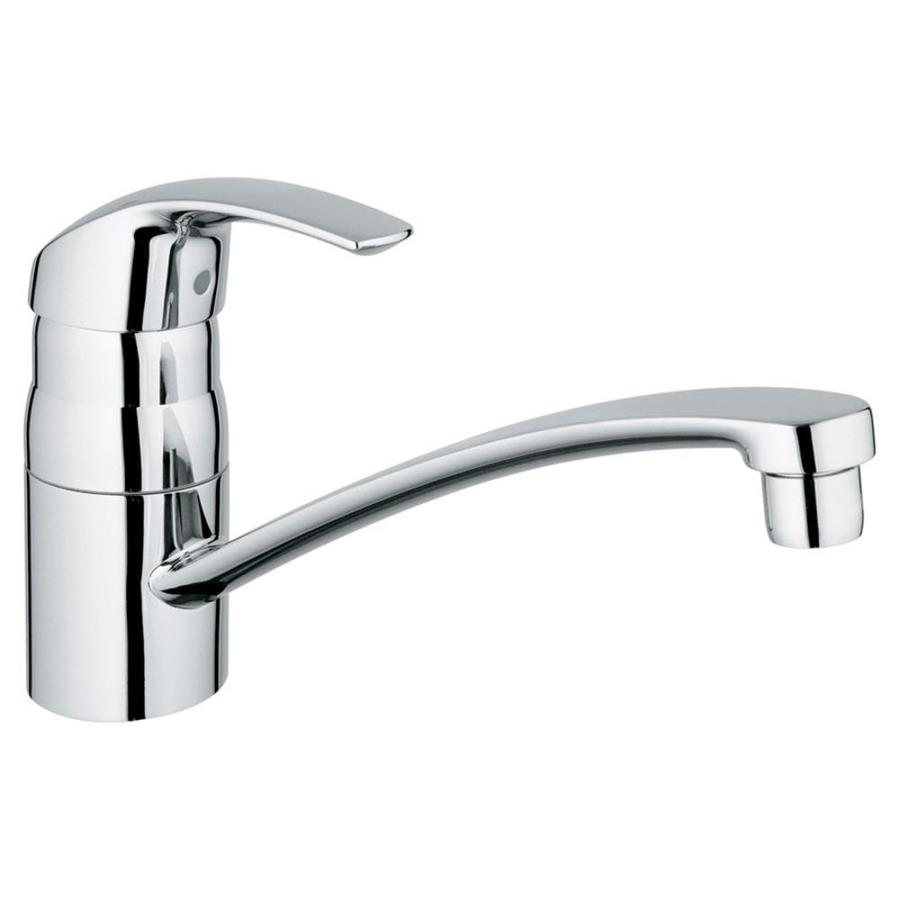 Grohe Eurosmart Starlight Chrome 1 Handle Deck Mount Low