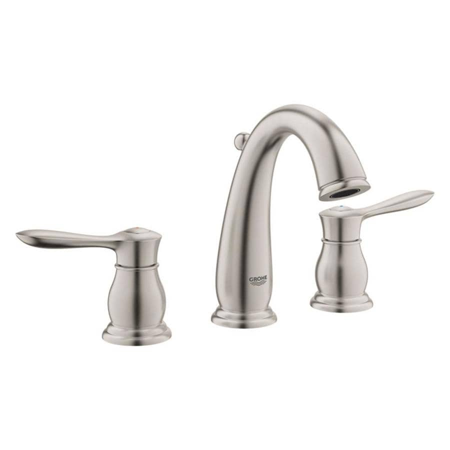 GROHE Parkfield Brushed Nickel 2-handle Widespread Bathroom Faucet