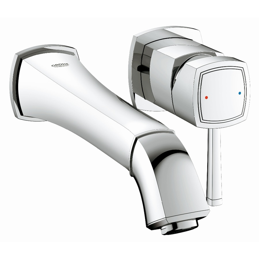 GROHE Grandera Starlight Chrome 1-Handle Vessel WaterSense Bathroom Faucet