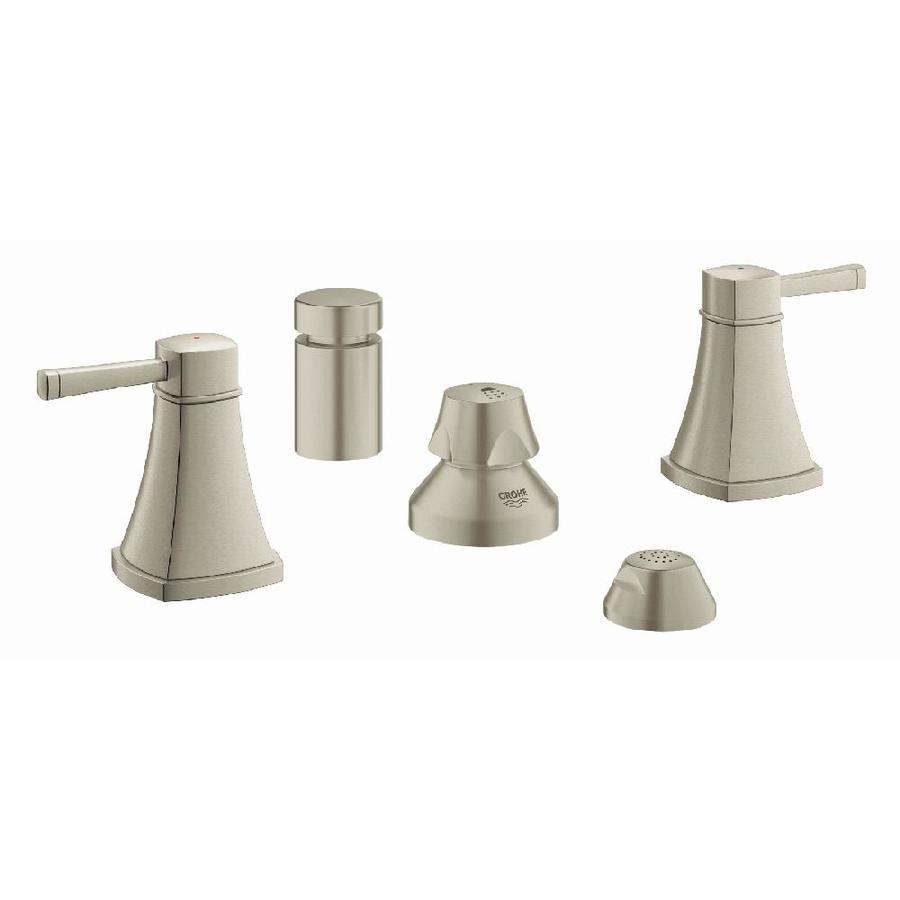 GROHE Grandera Brushed Nickel Infinity Vertical Spray Bidet Faucet