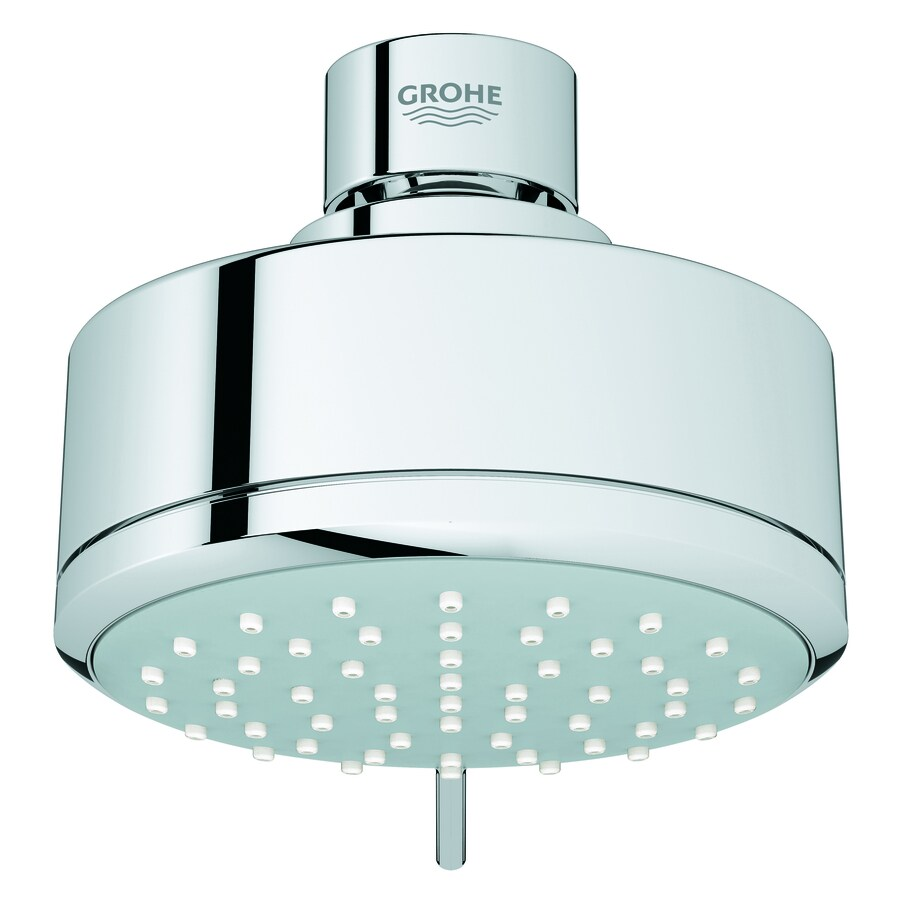 GROHE New Tempesta Cosmopolitan II 4-in 1.75-GPM (6.6-LPM) Starlight Chrome 2-Spray Showerhead