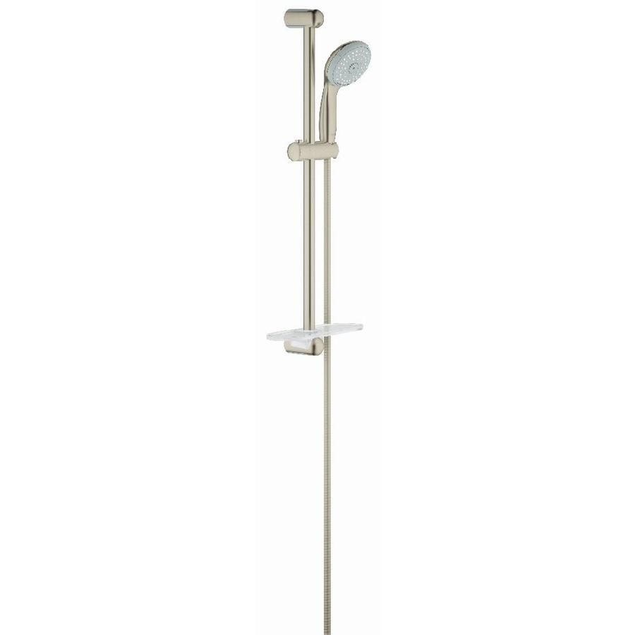 GROHE New Tempesta Iv Brushed Nickel 4-Spray Shower Head