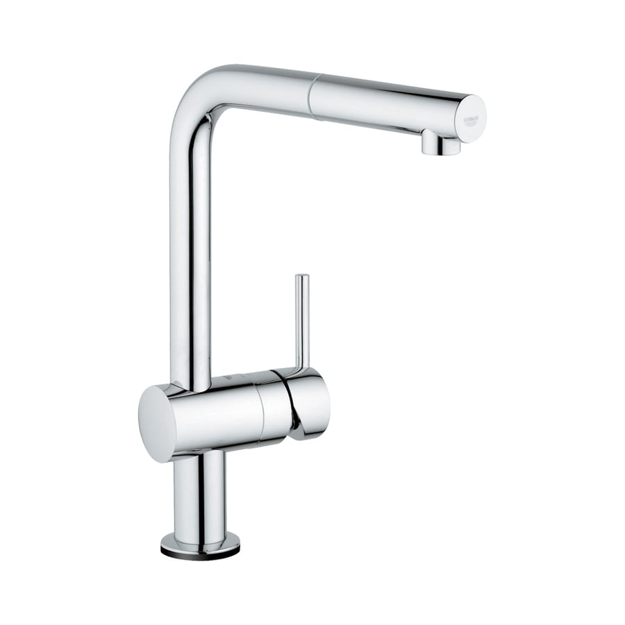 GROHE Minta Touch Starlight Chrome 1-Handle Pull-Out Touch Kitchen Faucet