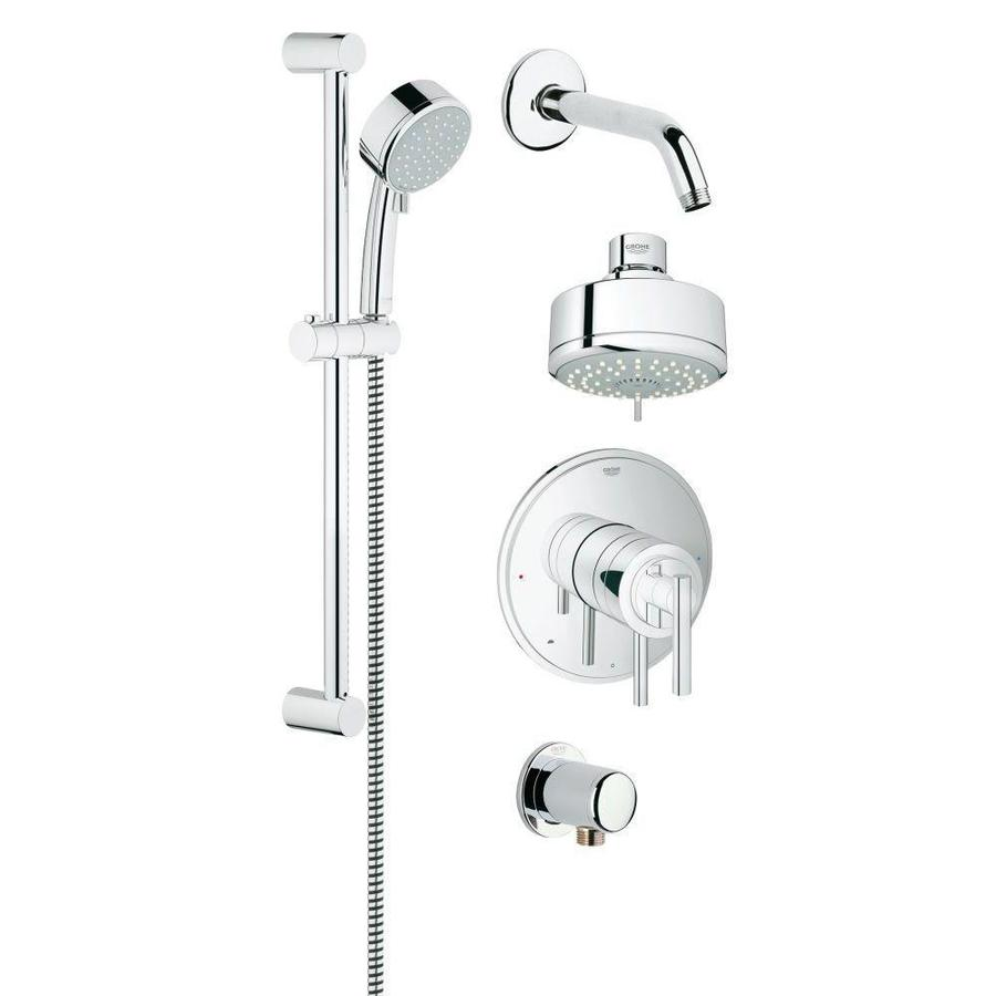 GROHE GrohFlex Chrome 4-Spray Rain