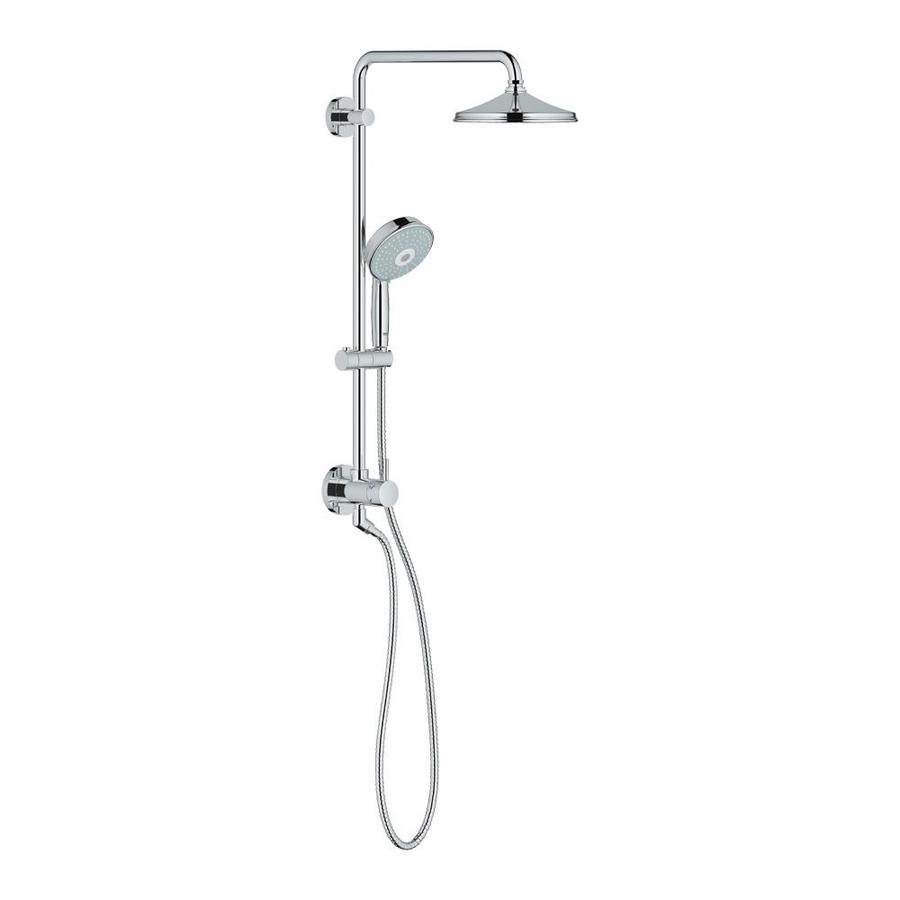 GROHE Retrofit Starlight Chrome Shower Head