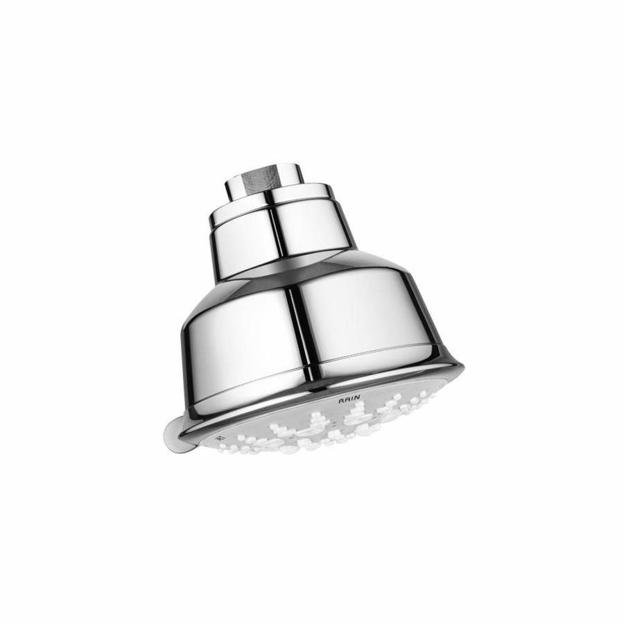 GROHE Relexa Rustic 4.0625-in 2.5-GPM (9.5-LPM) Chrome 5-Spray Showerhead