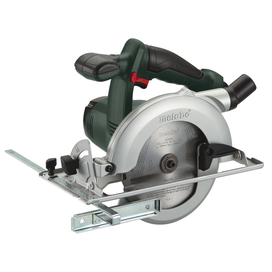 Shop Metabo 18 Volt 6 1 2 In Cordless Circular Saw With Brake At