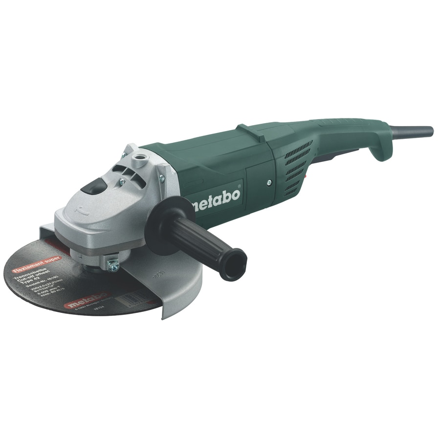Metabo 7-in 15-Amp Trigger Switch Corded Angle Grinder