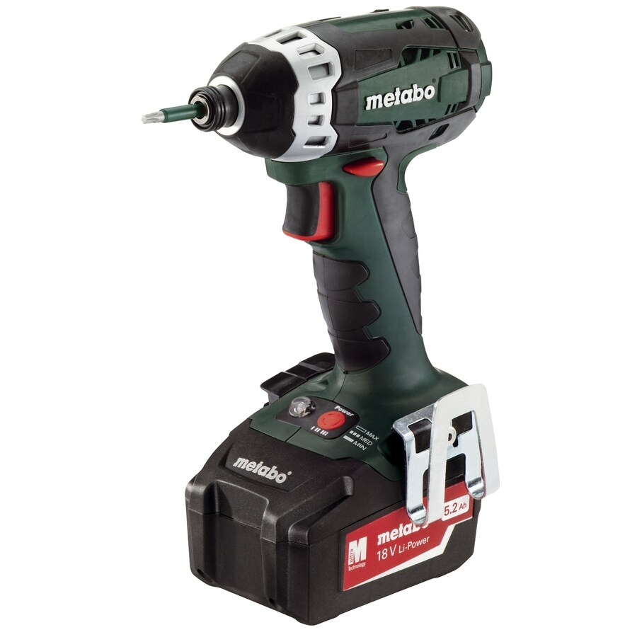 Metabo 18-Volt 1/4-in Cordless Variable Speed Impact Driver with Hard Case