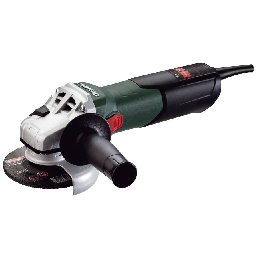 Metabo 4-1/2-in 8.5-Amp Sliding Switch Corded Angle Grinder