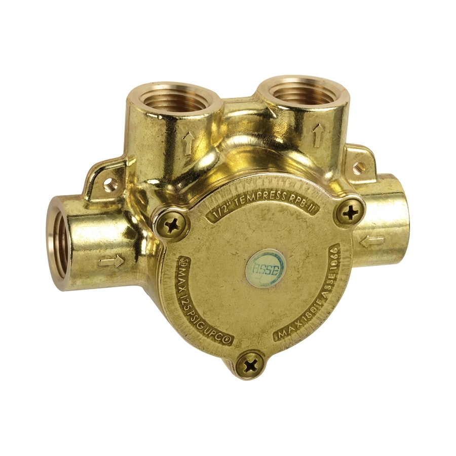Hansgrohe 1/2-in Brass Female In-Line Shower Valve