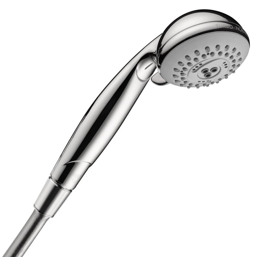 Hansgrohe Hg Shower 3-in 2.5-GPM (9.5 Lpm) Chrome 3-Spray Hand Shower