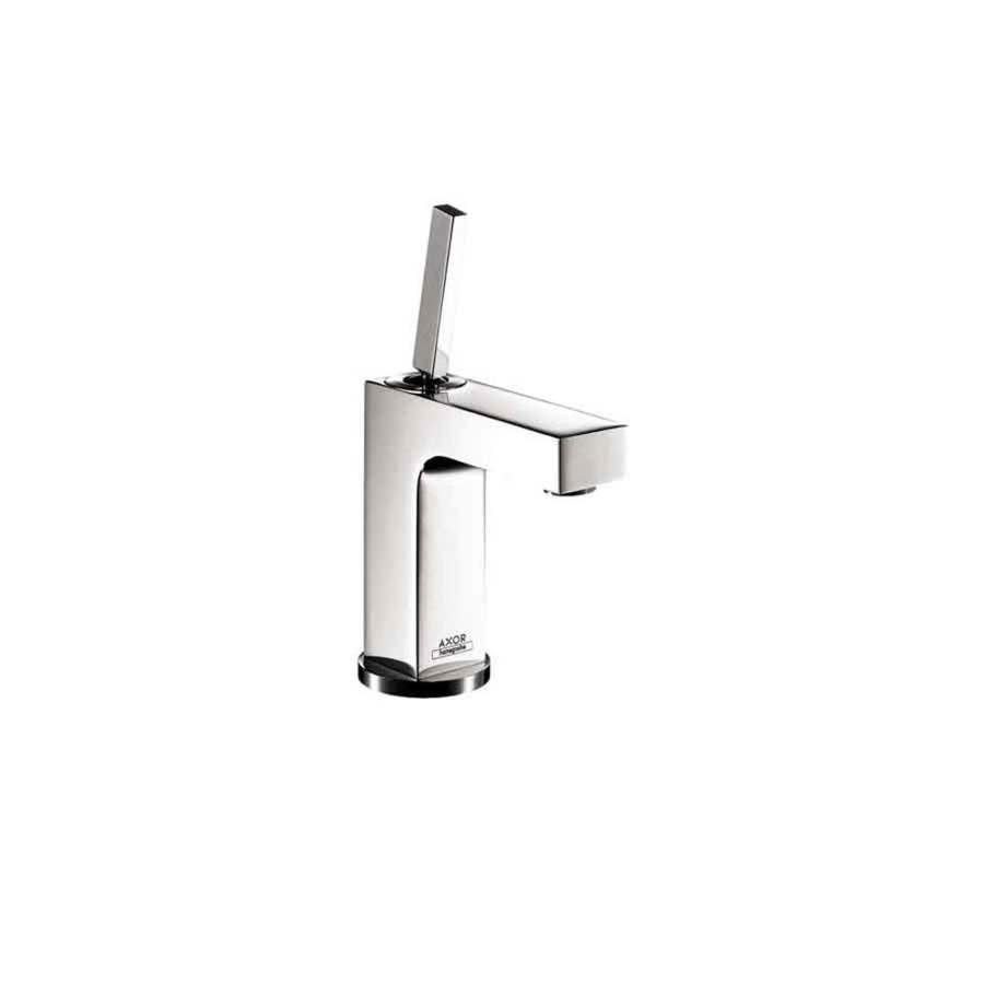 shop hansgrohe axor citterio chrome 1 handle single hole watersense bathroom faucet drain. Black Bedroom Furniture Sets. Home Design Ideas