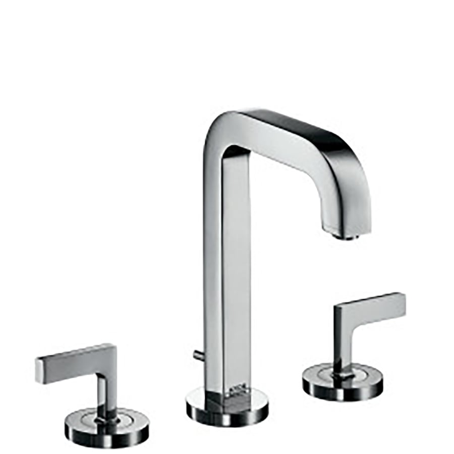 shop hansgrohe axor citterio chrome 2 handle widespread watersense bathroom faucet drain. Black Bedroom Furniture Sets. Home Design Ideas