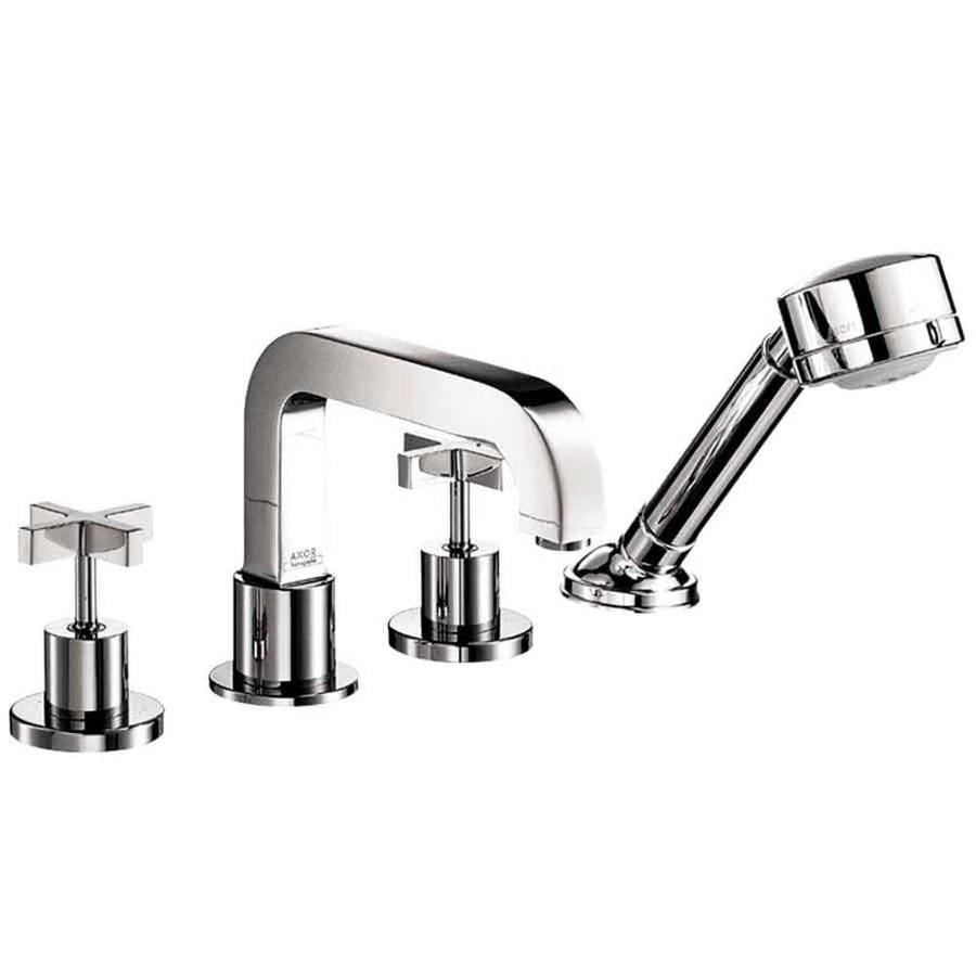 Shop hansgrohe axor citterio chrome 2 handle fixed deck - Hansgrohe shower handle ...