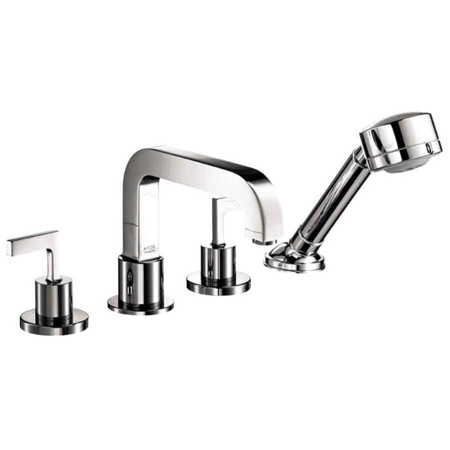 Hansgrohe Axor Citterio Chrome 2-Handle Deck Mount Bathtub Faucet