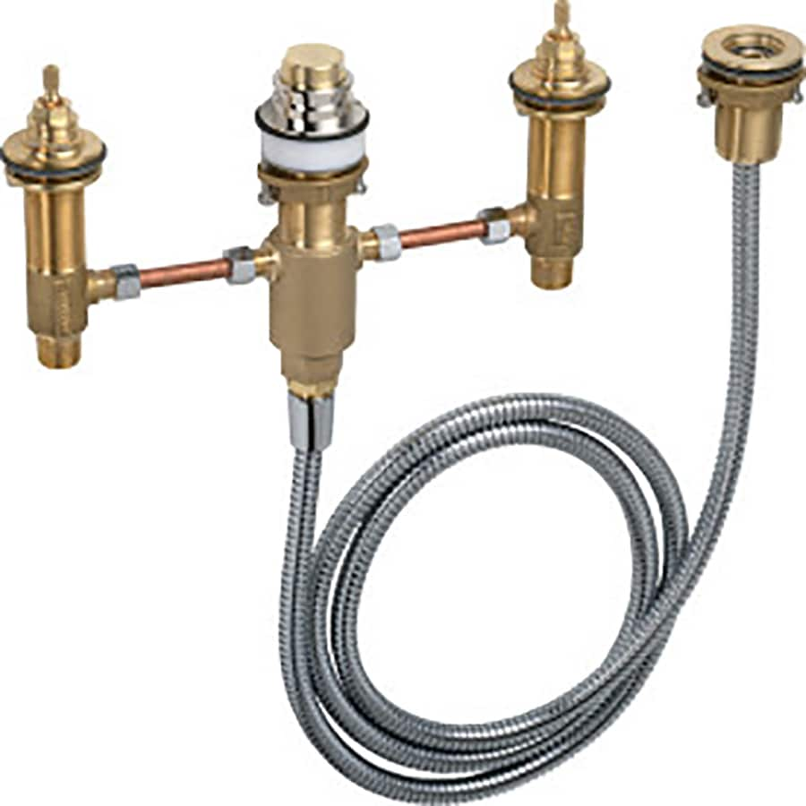 Hansgrohe 1/2-in Brass Male In-Line Stop Valve
