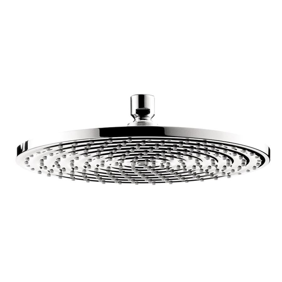 Hansgrohe Hg Shower 10-in 2.5-GPM (9.5-LPM) Chrome 1-Spray Rain Showerhead