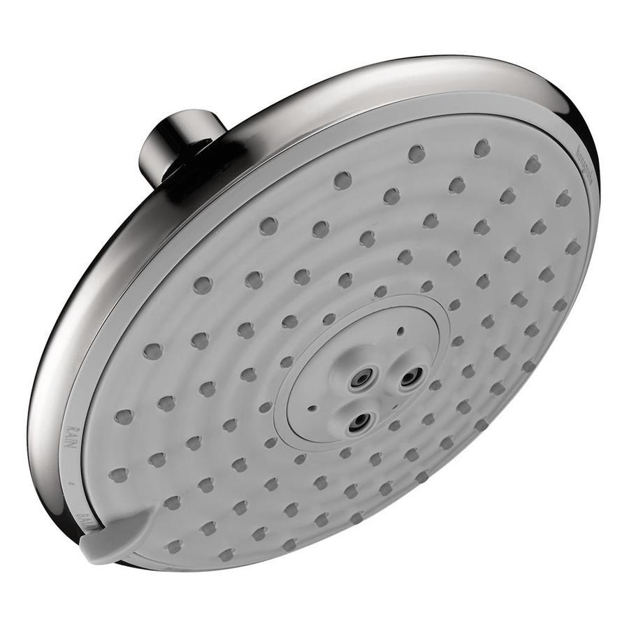 Hansgrohe HG 5.875-in 2.5-GPM (9.5-LPM) Chrome 5-Spray Rain Showerhead