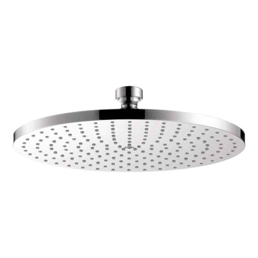 Hansgrohe HG 10-in 2.5-GPM (9.5-LPM) Chrome 1-Spray Rain Showerhead