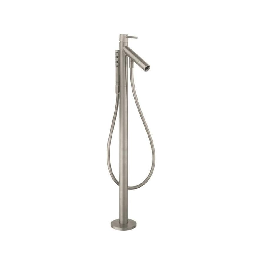 Hansgrohe Starck Axor Brushed Nickel 1-Handle Fixed Freestanding Bathtub Faucet