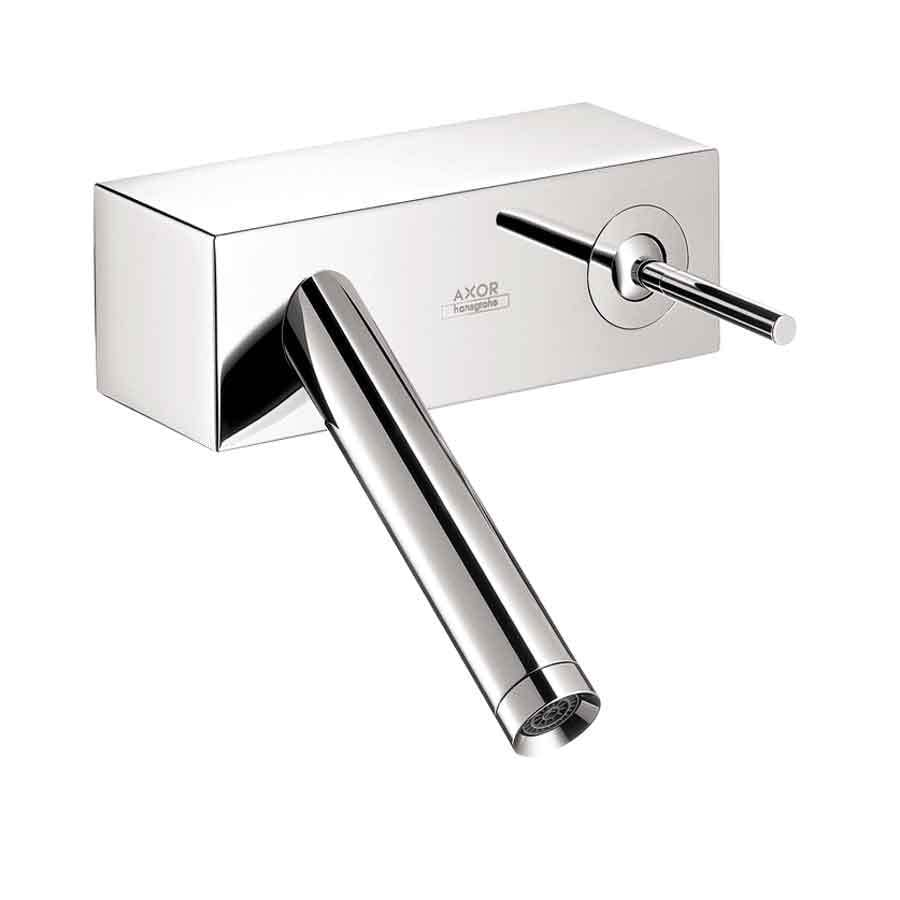 Shop hansgrohe axor starck x chrome 1 handle single hole - Hansgrohe shower handle ...