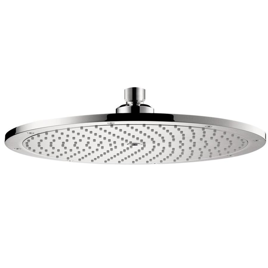 Hansgrohe HG 4-in 2.5-GPM (9.5-LPM) Chrome 1-Spray Rain Showerhead